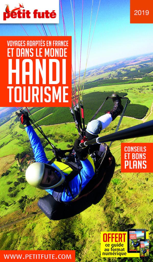 """www.handicap-info référencé sur le guide Handitourisme 2019 """" Le petit futé"""""""