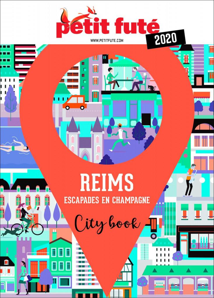 Guide touristique Petit Futé Reims édition 2020.